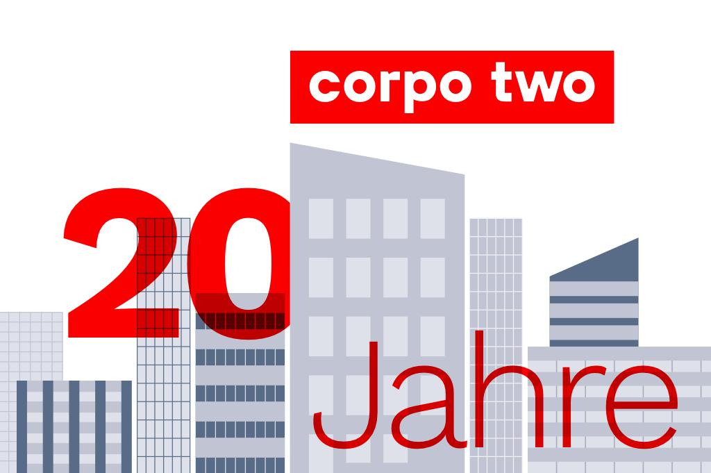 20 Jahre corpo two – von der Gründungsidee bis heute und mit Blick in die Zukunft